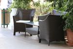 Сепарета за кафенета от ратан,придаващи стил и комфорт на всеки интериор вече и в