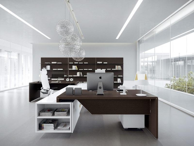 Директорски офис мебели по индивидуален проект