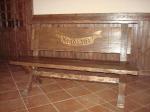 дървено сепаре за бар 250-3233